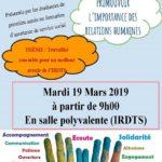 Journée Mondiale du Travail Social 2019